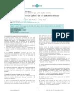 Criterios generales de validez de los estudios clínicos