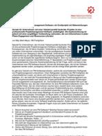 Autorenbeitrag Project Management Software