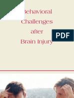 Behavioral Challenges