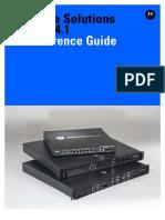 Motorola Solutions WING 5.4.1 Wireless Controller CLI Reference Guide (Part No. 72E-170137-01 Rev. a) 72E-170137-01a