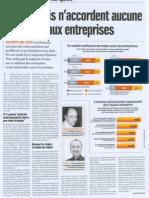Les Français n'ont aucune confiance dans les entreprises