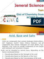 Gist of Chemistry From NCERT Books