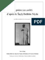 La prière selon le Shaykh Ibrahim Niyas