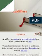 Acidifiers
