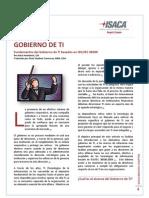 Fundamentos Del Gobierno de TI Basados en ISO IEC 38500