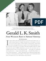 Wisconsin Magazine of History (c. 86, Sayı. 2, Kış 2002-2003, Gerald L. K. Smith form Wisconsin Roots to National Noterity)