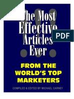 Effective Articles