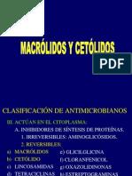 7 Macrolidos. Dra. Raquel