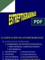 8 Estreptograminas y Linezolid. Dra. Raquel