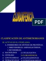 10 Cloranfenicol. Dra. Raquel