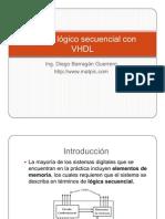 Diseño lògico secuencial con vhdl
