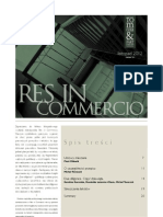 Res in Commercio 11 2012