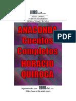 Cuentos Completos Horacio Quiroga