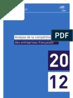 Analyse de la compétitivité des entreprises françaises