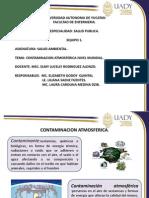 Salud Ambiental. Contaminacion