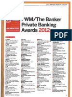 Banker Private Banking Awards