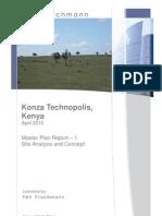 Konza Master Plan Phase 1 (2010)