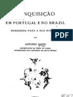 A Inquisição em Portugal e no Brasil