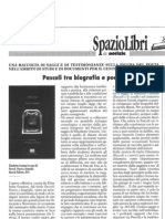 """Recensione di Roberto Fiorini a """"Pascoli, Poesia e biografia"""", AA.VV., a cura di Elisabetta Graziosi"""