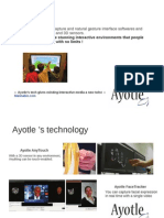 Ayotle - vision par ordinateur et capture de mouvements
