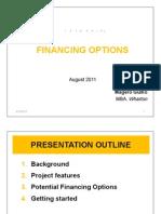 Financing_Konza City 2012