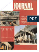 A New Dimension In Precast Prestressed Concrete Bridges For Congested Urban Areas In High Seismic Zones