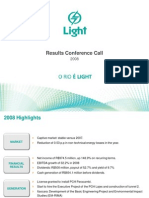 Presentation - 4Q08 and 2008 Results