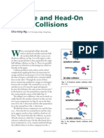 Oblique and Head-On Collision