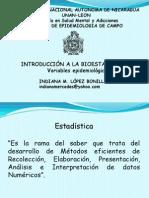 INTRODUCCIONBIOEST-variables epidemiológicas-MSM-2012