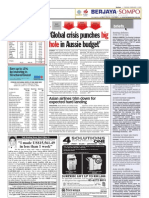 TheSun 2009-02-03 Page14 Global Crisis Punches Big Hole in Aussie Budget