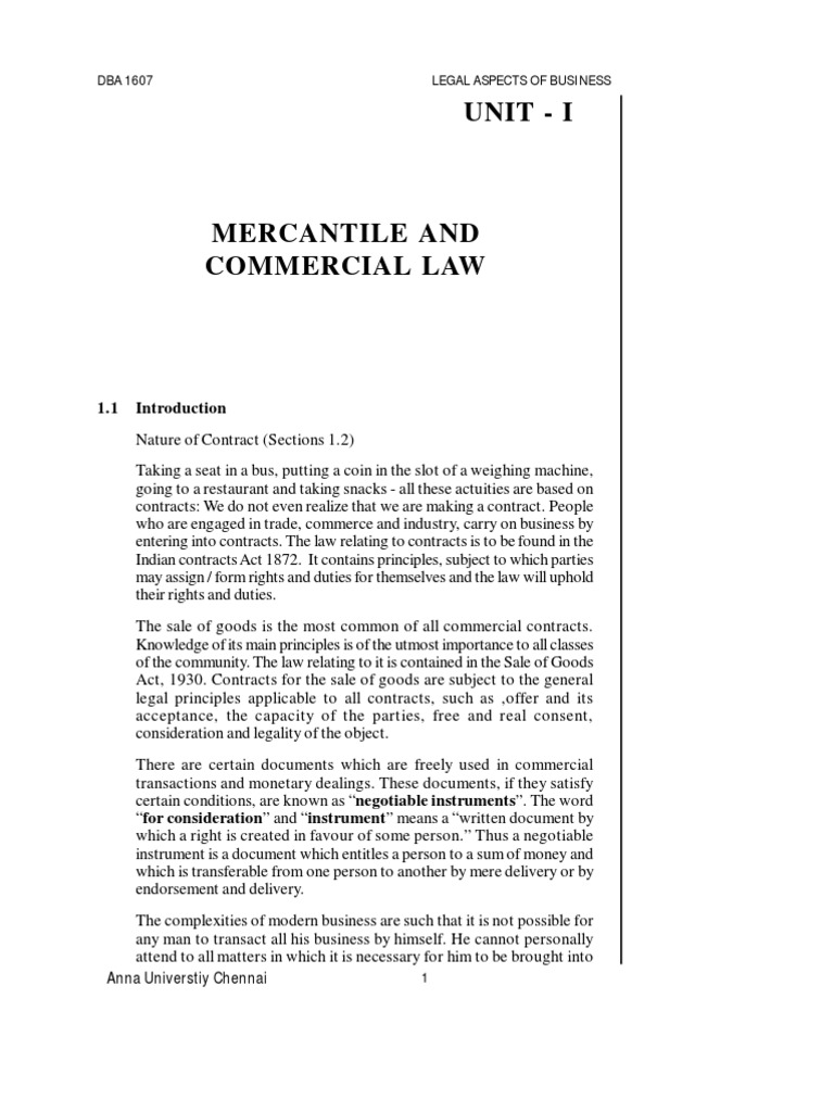 Dba1607 legal aspects of businesspdf offer and acceptance damages fandeluxe Choice Image