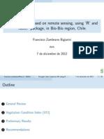Presentación Índice de Sequía Agrícola VCI (Vegetation Condition Index)