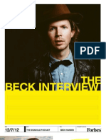 Forbes Ideasicle Podcast - Beck Hansen