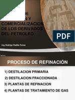 Refinacion y Comercializacion de Los Derivados Del Petroleo