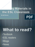 ESL Reading Material