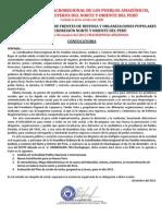 IV Asamblea Macreregional del Nororiente Peruano