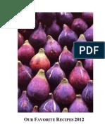 2012 Cookbook
