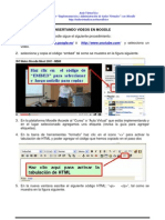 Insertar Videos de Youtube en Moodle
