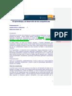 Gasoca_El Aprendizaje y El Desarrollo de Las Competencias
