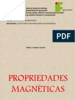 PROPRIEDADES MAGNÉTICAS - 01