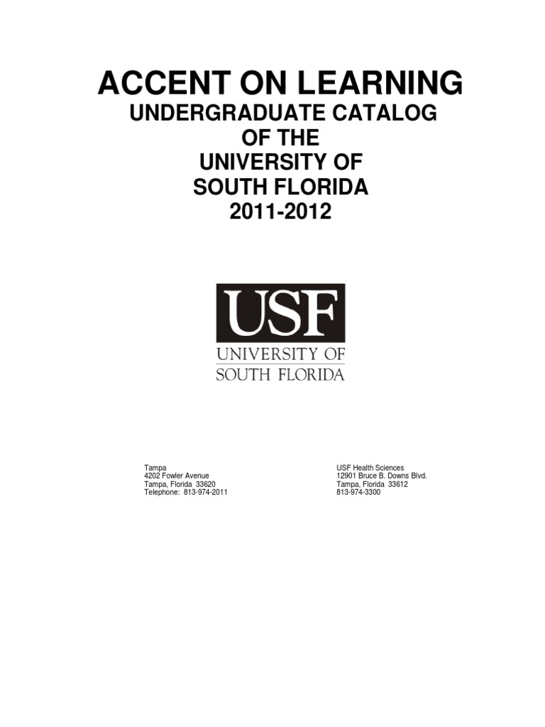 usf university and college admission bachelor s degree