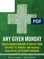Sports injuries and how to prevent them