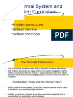 EDU 453 Hidden Curriculum Ch 8