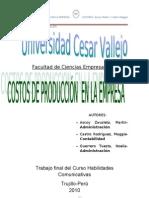 38606033 Monografia de Costos de Produccion en La Empresa