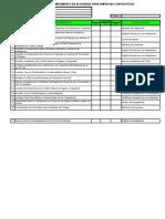 Check List Para Reglamento EE CC
