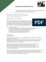 Health Insurance Research Award by III