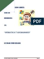 OFIMÁTICA Y QUEMADORES
