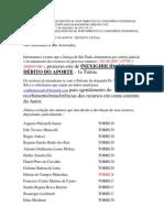 Analia Devolucao Deposito Em Juizo Caso Bancoop