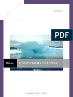 Ciencias Sociales 1º ESO. Ríos y Mares