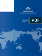 AUS  GOVT  DEPT FOREIGN AFFAIRS  & TRADE AR 2011 2012